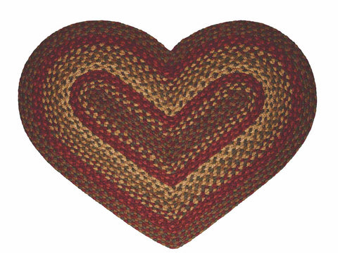 Cinnamon 20'x30' Heart Shaped Rug