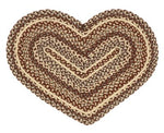 Gristmill Heart Shaped Rug