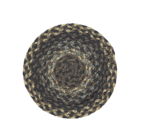 Farmyard 8' Braided Rug Trivets - Set of 4