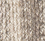 "Ashwood Braided Rugs 20"" x 30"" to 8'x10' Rect. Natural Jute Material