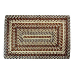 "Loft Braided Rugs 20"" x 30"" to 8'x10' Rectangle Natural Jute Material