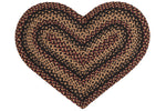 Blackberry 20'x30' Heart Shaped Rug