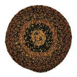 Cappuccino 8' Braided Rug Trivets - Set of 4