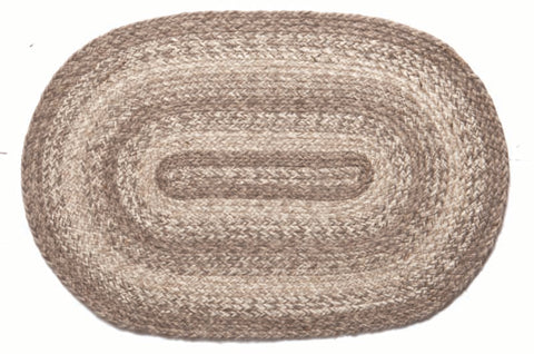 "Ashwood Braided Rugs ,BR-278 20""x30"" to 8'x10' Oval"