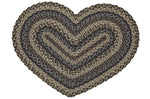 Farmyard Heart Shaped Rug