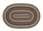 Farmyard Oval Rug