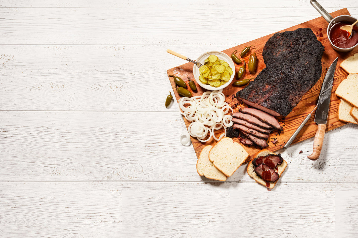 New Brisket Hero Platter for Nolan Ryan Beef