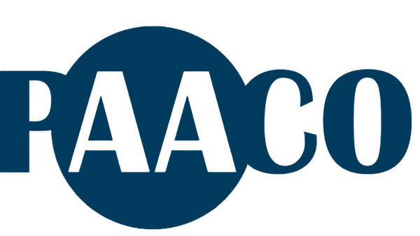 Blue PAACO Logo showing support for Animal Welfare Regulations