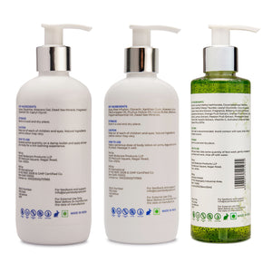 SKIN CARE COMBO WITH TEA TREE FACE WASH - AryamBodycare