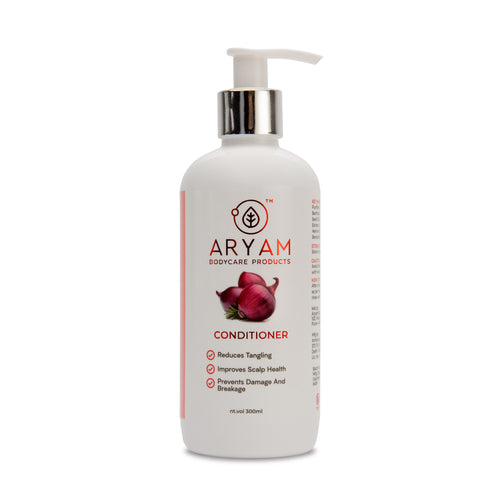 CONDITIONER- RED ONION AND ALMOND OIL (300 ML) - AryamBodycare