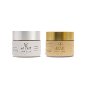 HAIR MASK AND FACE MASK - AryamBodycare