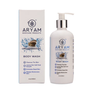BODY WASH - DEAD SEA MINERAL (300 ML) - AryamBodycare