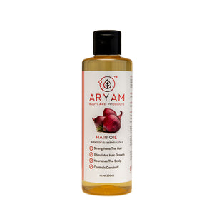 RED ONION HAIR OIL (200 ML) - AryamBodycare
