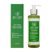 Load image into Gallery viewer, TEA TREE FACE WASH (200 ML) - AryamBodycare