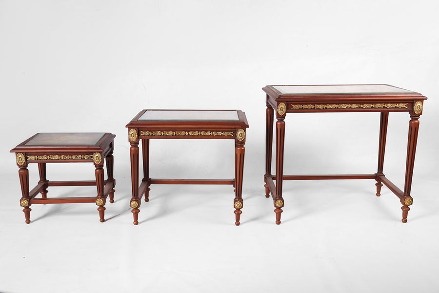Classic Nesting Coffee Tables (3 tables)