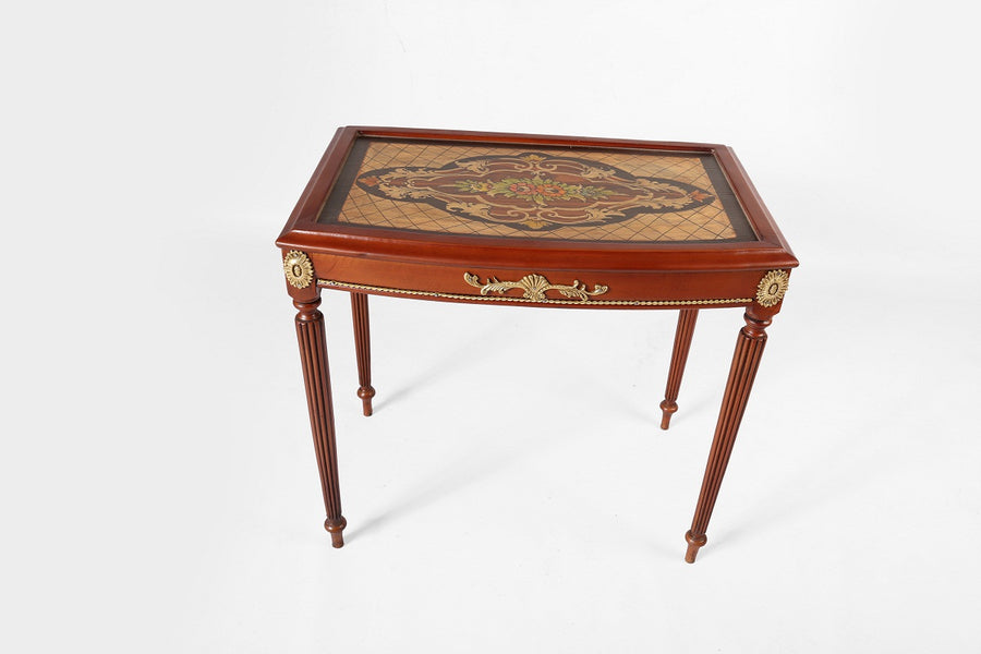 Napoleon III Coffee Tables - Marquetry inlaid (3 Tables)