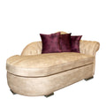 Chester purple/beige living room (4 pieces)
