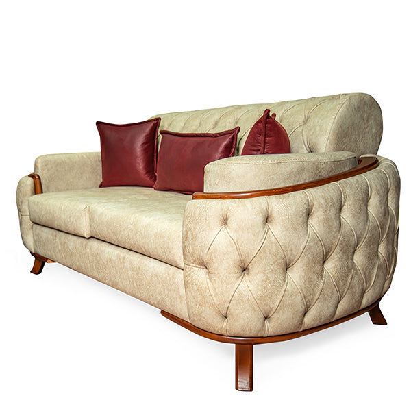 Tufted Contemporary Living Room Set