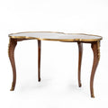 Louis XV Hand Carved Inlaid Nesting Tables (3 set)