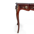 Louis XV style Ormolu mounted writing desk-Bureau plat
