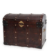 Wooden classic closed treasure chest - (3 set)