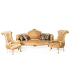 Classic Baroque style living room (4 pieces)