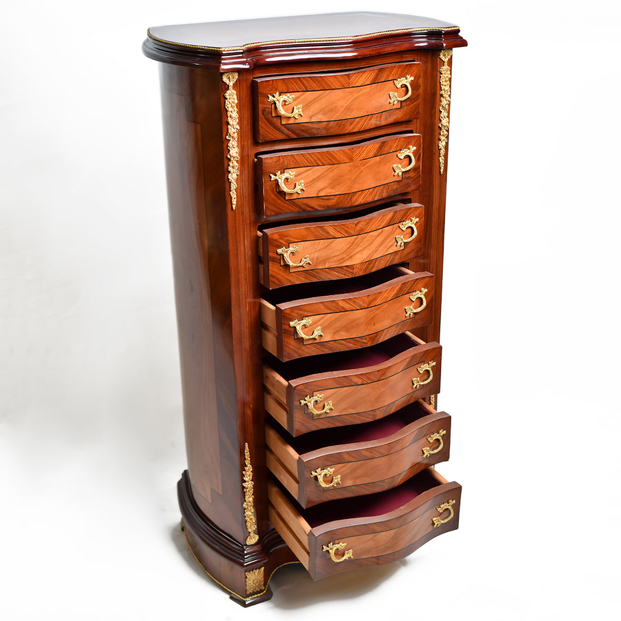French empire seven days chest of drawers