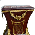 French Louis Style Boulle Pedestal (2 set)
