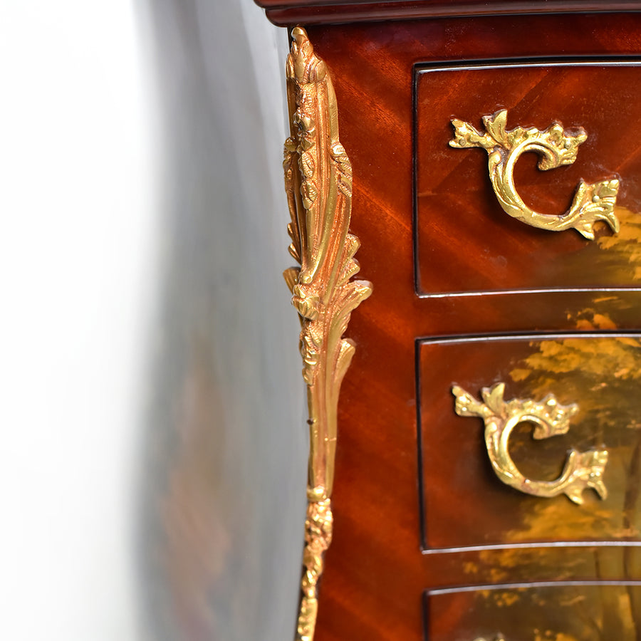 Oriental Rococo style commode