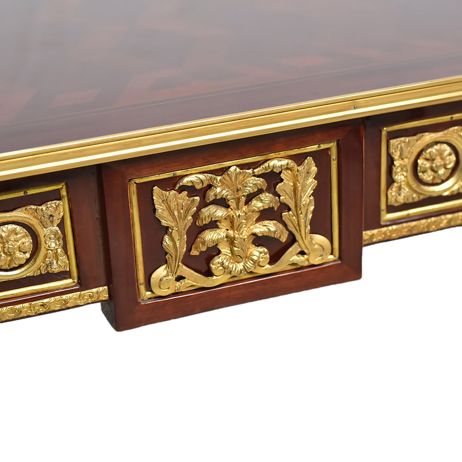 French style gilt mounted center table