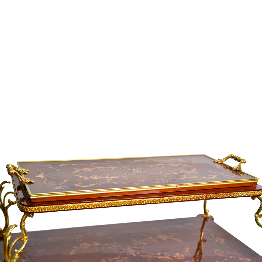 French Louis xiv style tea cart