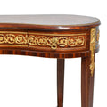 French Louis XVI style kidney console table