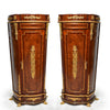 Pair of French Style Pedestal cabinet