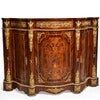 Late 1700s French gilt mounted cabinet