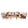 Classical Precious Carved Living Room (6 pieces)