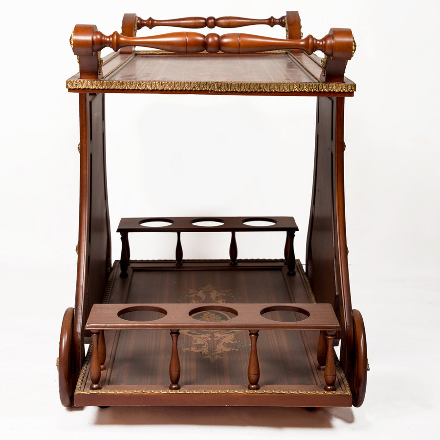 Lotus Serving Cart