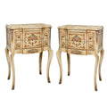 Vintage French provincial nightstand storage (2 set)