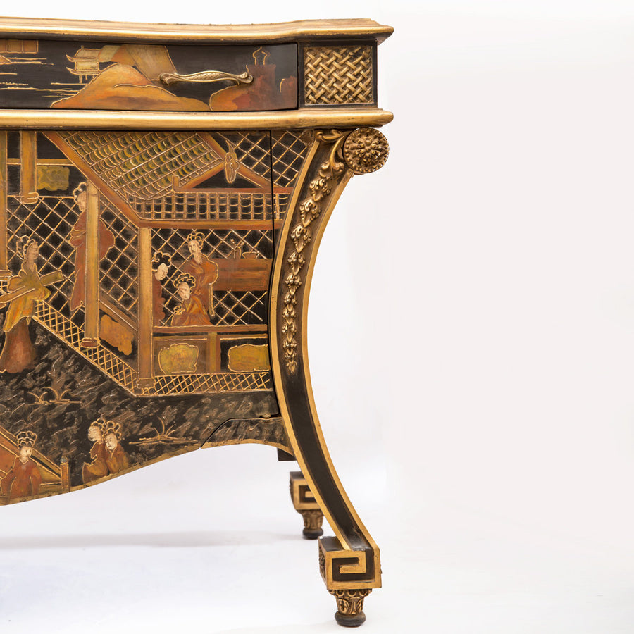 18th Century Chinese-Style Commode close look