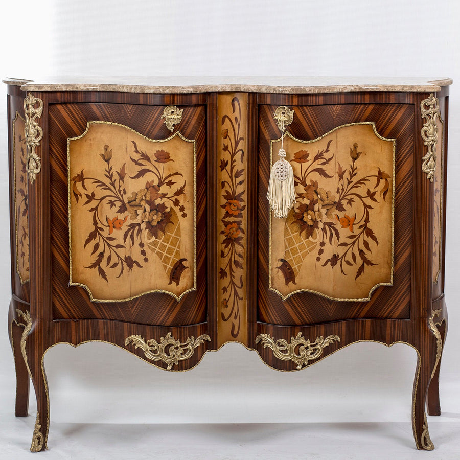 Louis XV Commode - Marble Top
