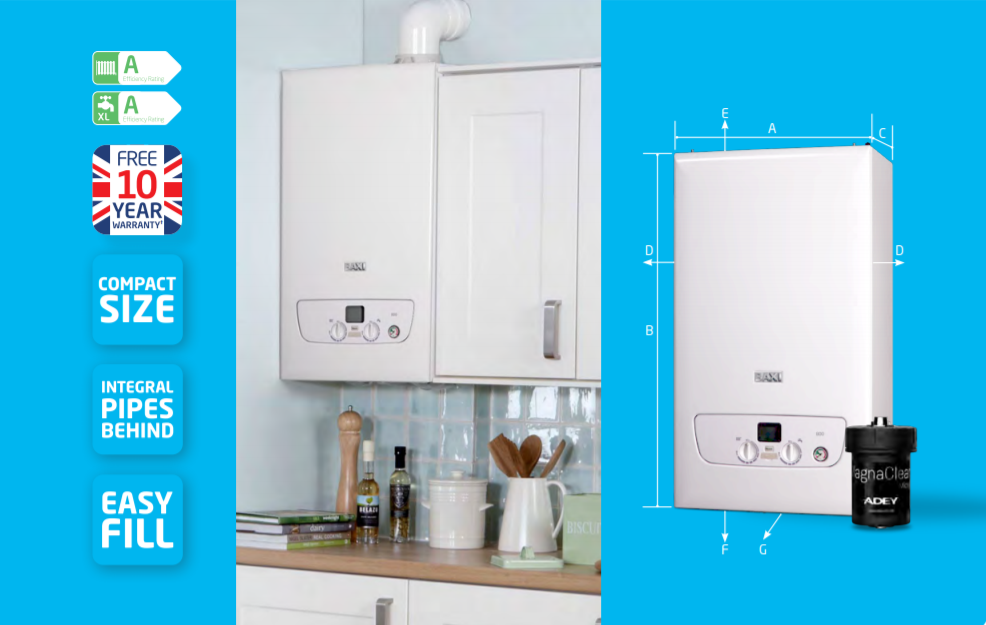 Baxi 830 from £1800 with £99 Deposit