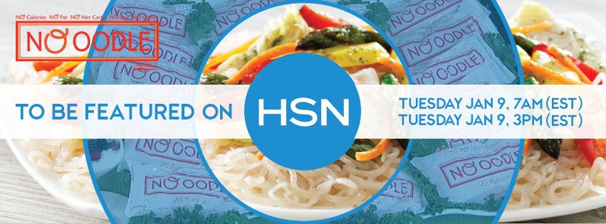 NOoodle and Chef Terri on HSN