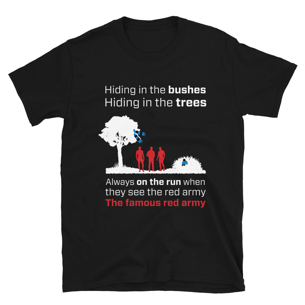 The famous red army T-shirt