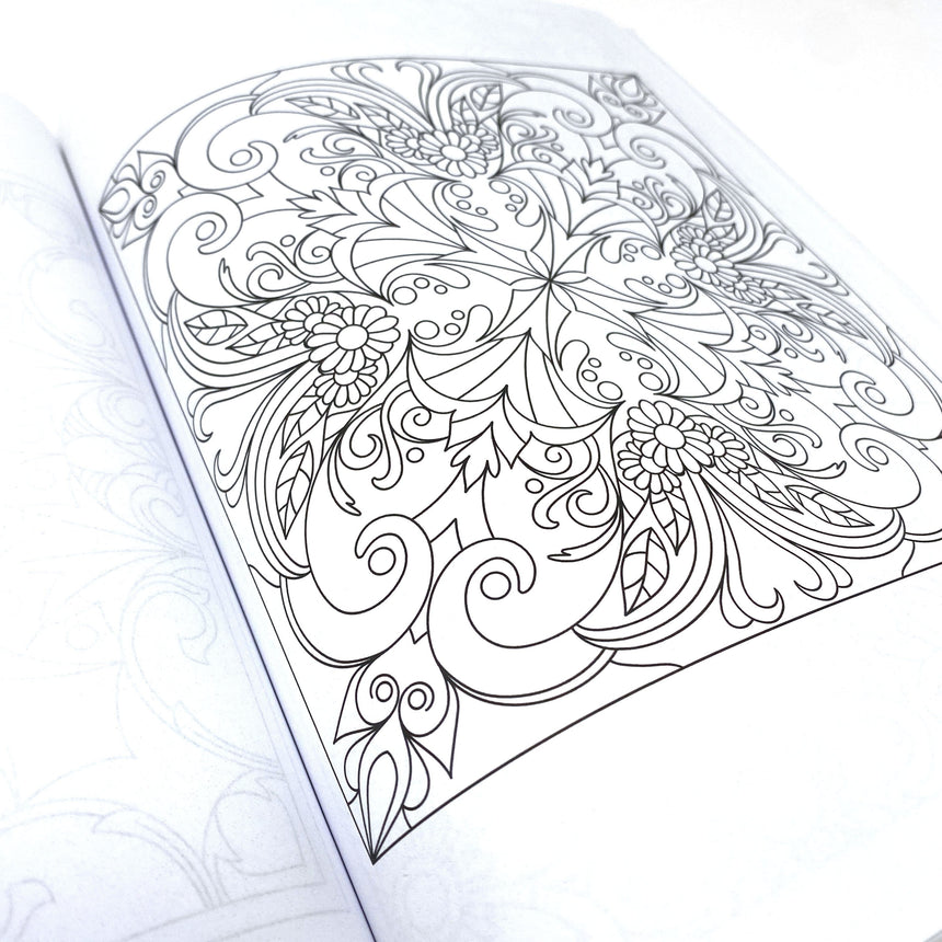 Adult Coloring Book For Stress Relief Dorothy Gilbert