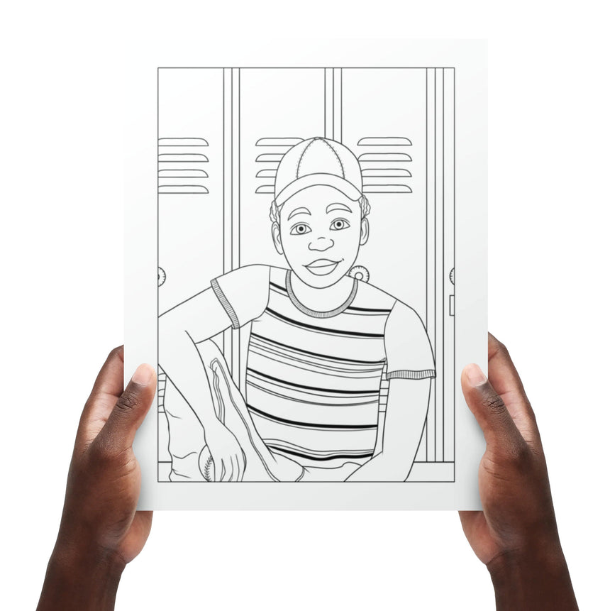 Black Boy Joy Coloring Book Vol. 1: Young Kings Dorothy Gilbert