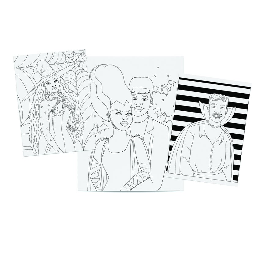 Halloween 2020 Printable Coloring Pack (PDF) Dorothy Gilbert