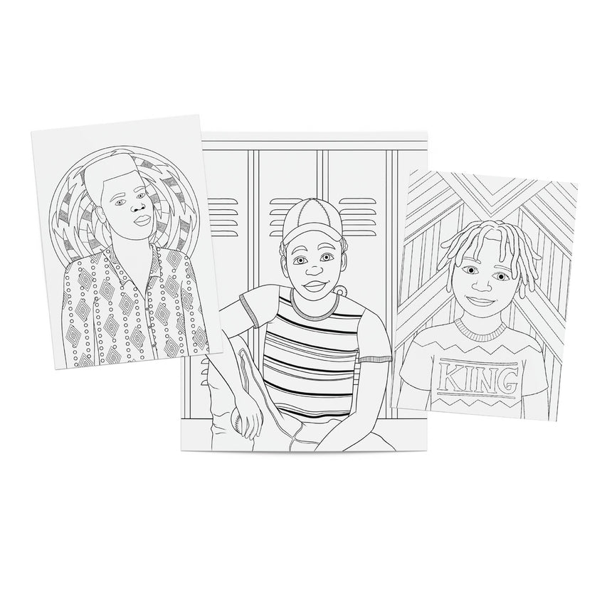 Young Kings Printable Coloring Pack (PDF) Dorothy Gilbert