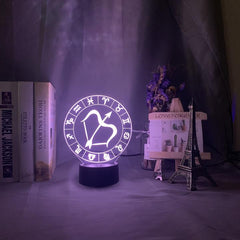 Collection lampes et veilleuses astrologie