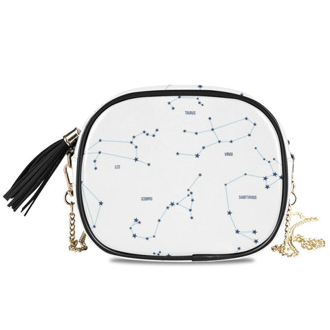Sac à main constellations luxueuses