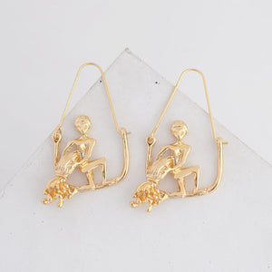 Boucles d'Oreilles Astrologie </br> Handcrafted