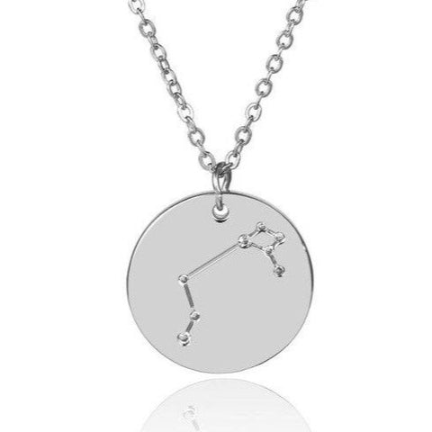Collier Constellation étincelante zodiacale